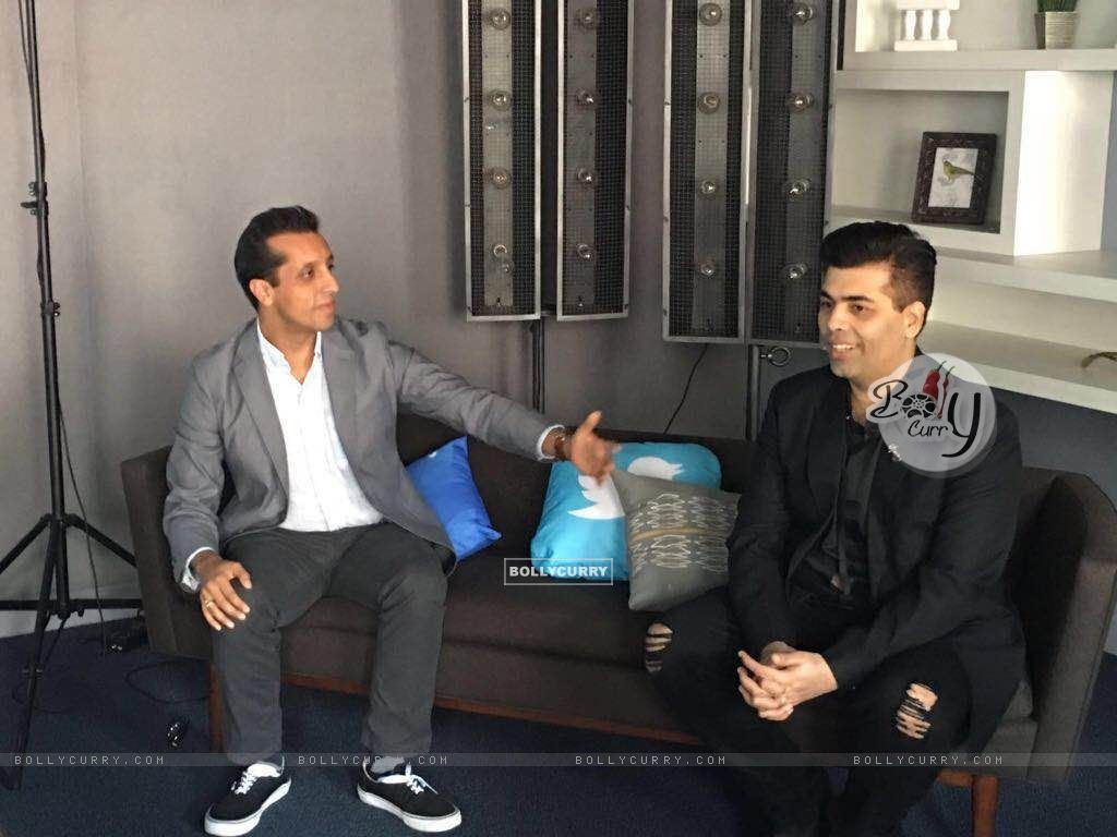 Karan Johar first Bollywood filmmaker to visit Twitter headquarters (417055) size:1024x768
