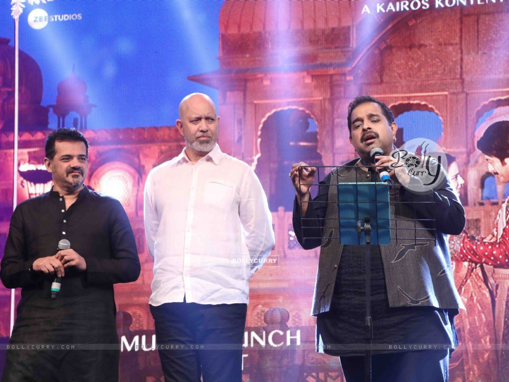 Shankar-Ehsaan-Loy spotted at Manikarnika music launch (443070) size:1024x768