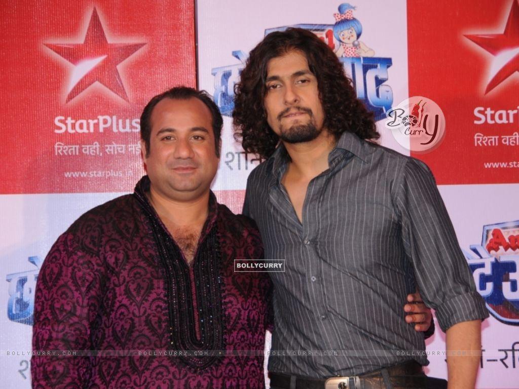 Rahat Fateh Ali Khan & Sonu Nigam as a judges (91247) size:1024x768