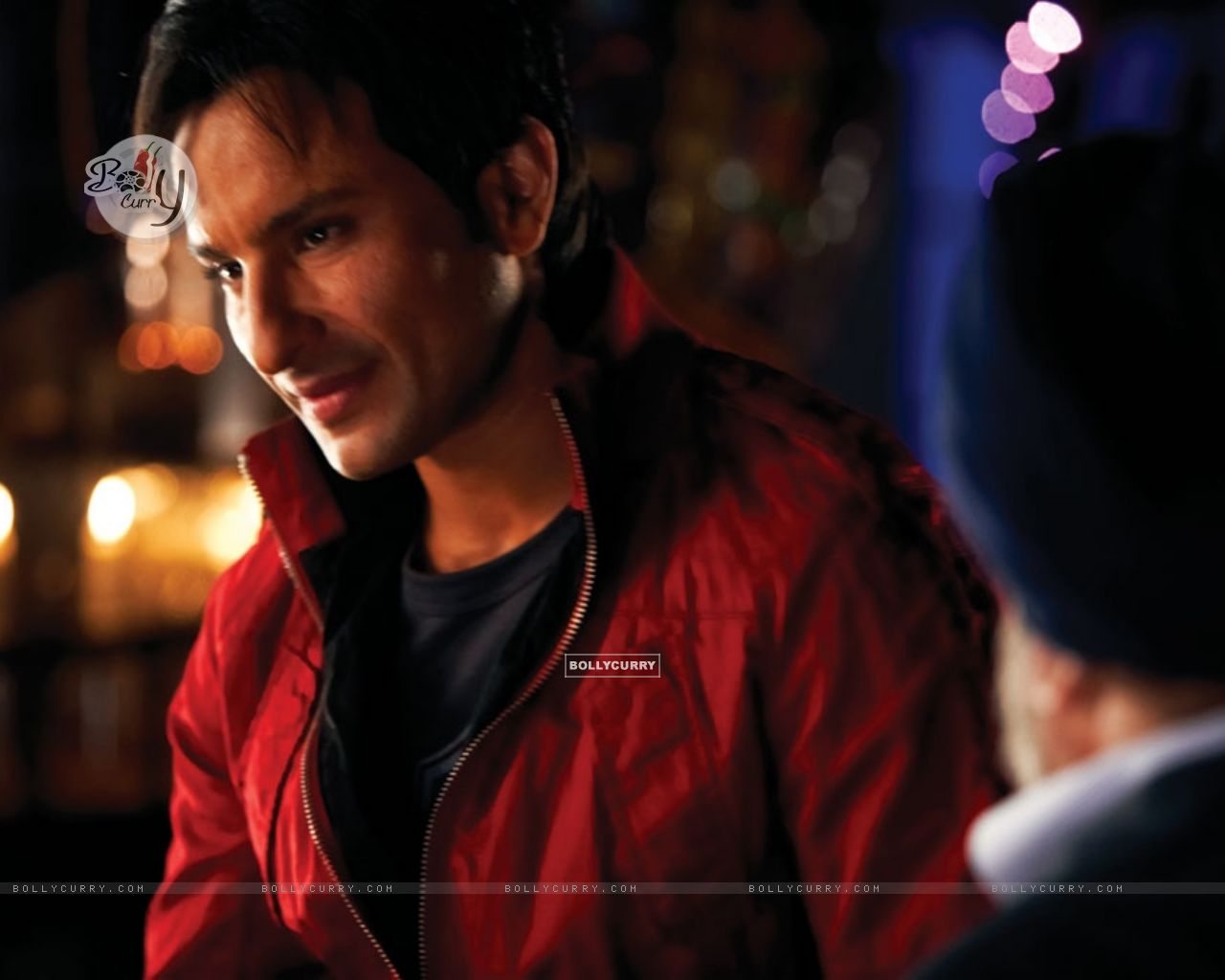 Saif Ali Khan in Red Jacket (11031) size:1280x1024