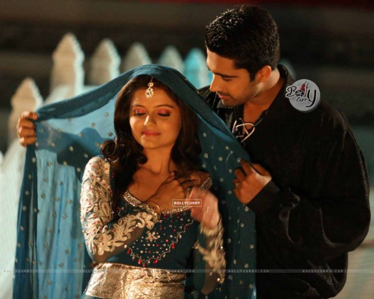 Avinash Sachdev and Rubina Dilaik as Dev and Radhika (149270) size:1280x1024