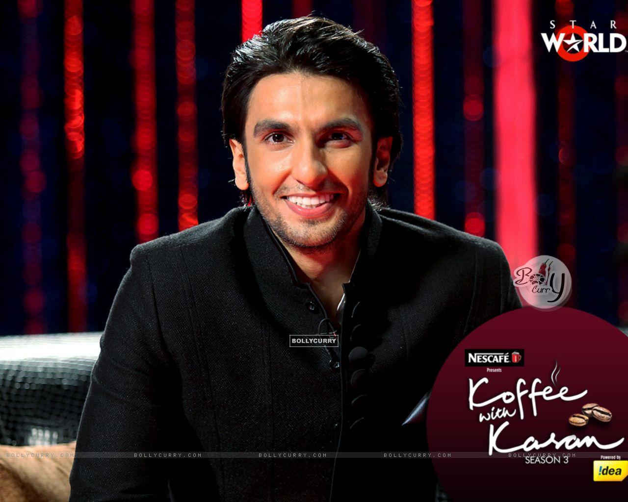 Ranveer Singh on Koffee with Karan (149343) size:1280x1024