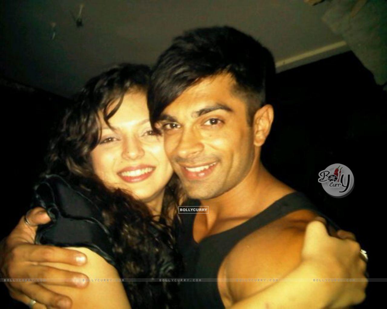 Karan Singh Grover with Drashti Dhami   Karan Singh Grover ...