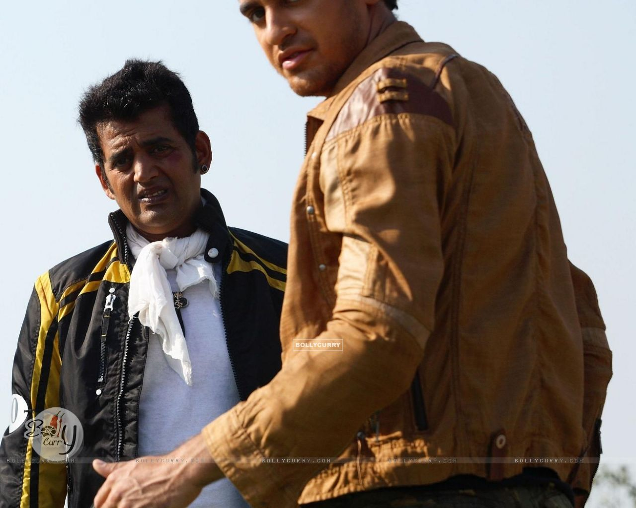 Imran Khan and Ravi Kissan in Luck movie (20292) size:1280x1024