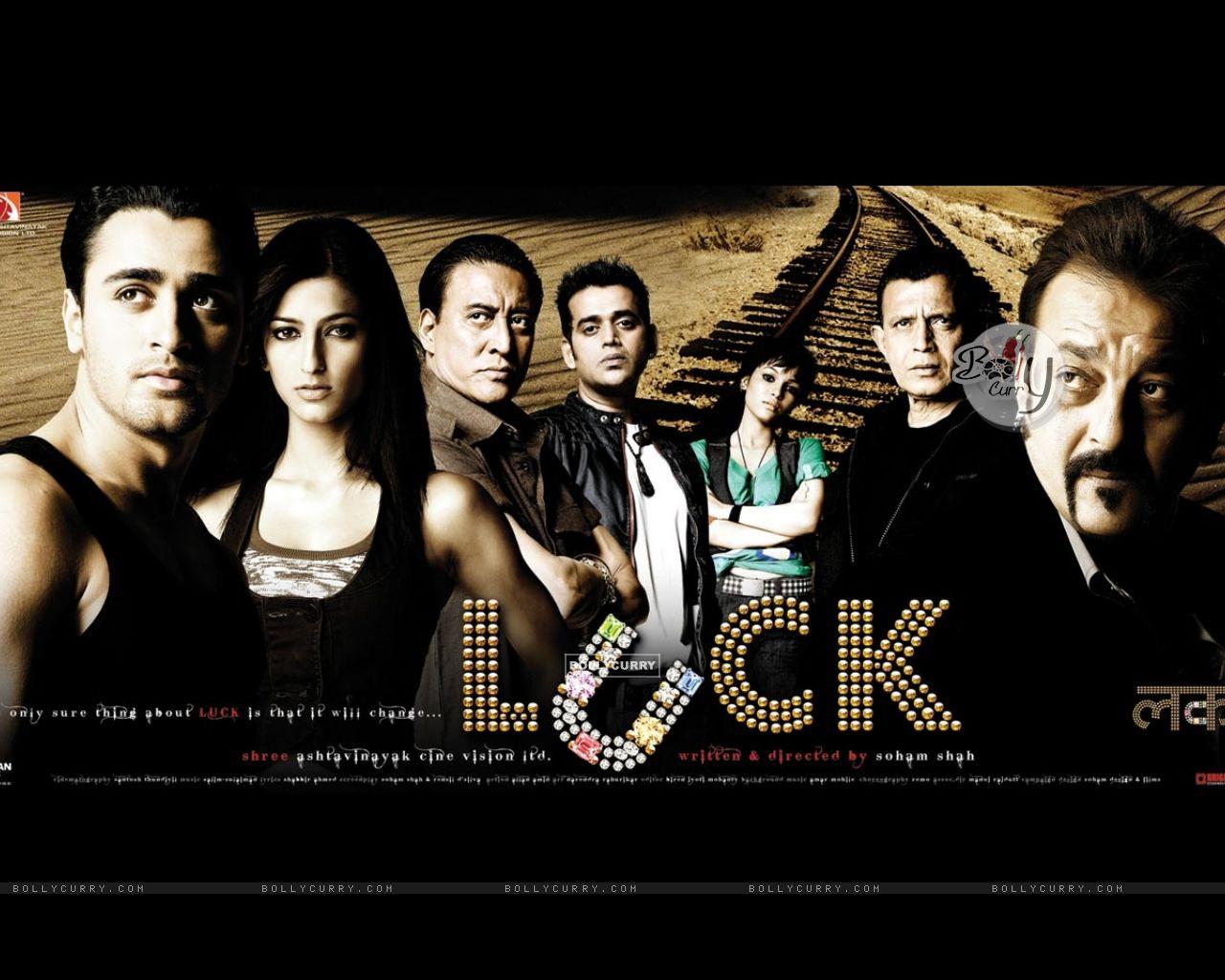 Luck movie wallpaper with Imraan,Sanjay,Shruti...... (20315) size:1280x1024