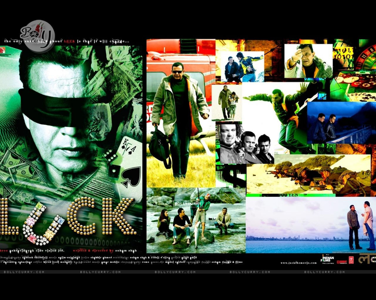 Wallpaper of Luck movie with Mithun Chakraborty (20318) size:1280x1024