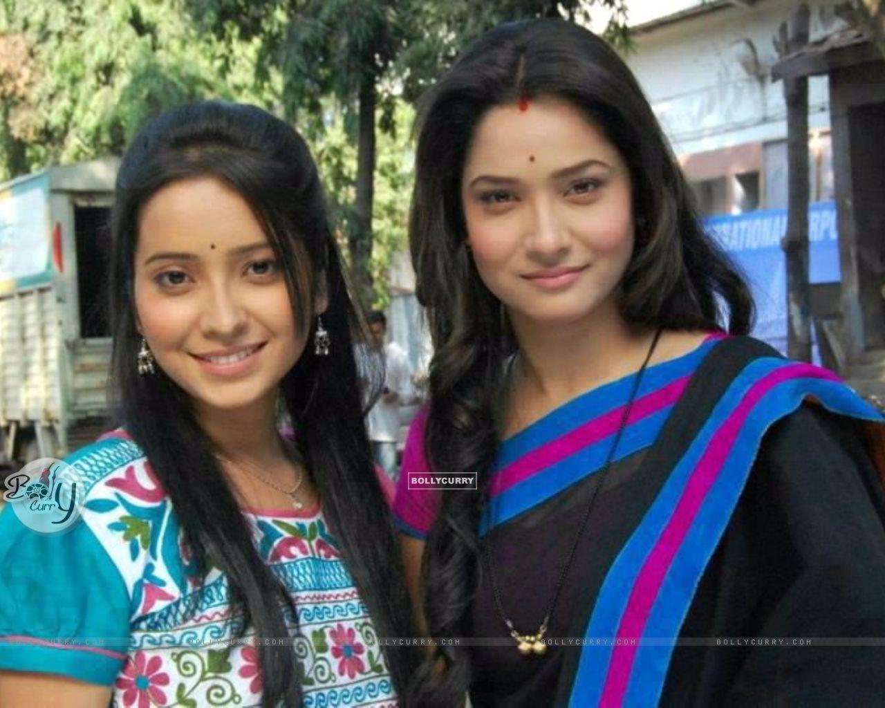 Ankita Lokhande and Asha Negi