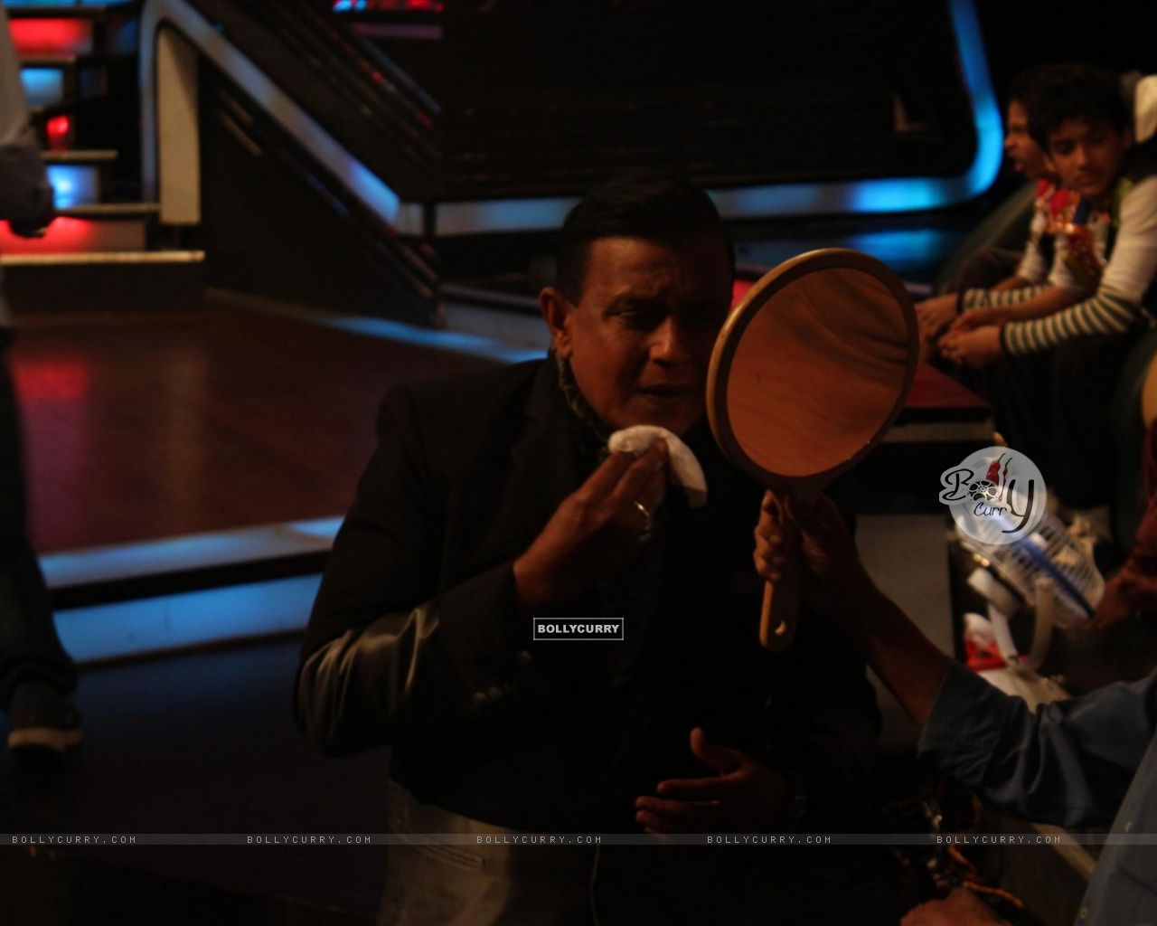 Mithun Chakraborty on the sets of Dance India Dance (224200) size:1280x1024