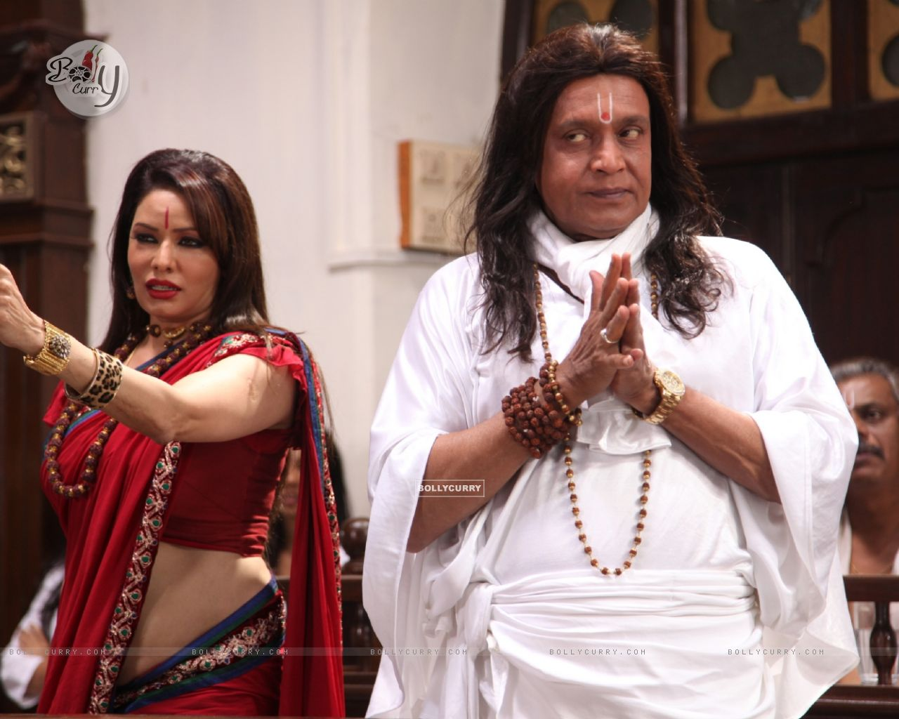 Poonam Jhawer and Mithun Chakraborty in OMG! Oh My God (226262) size:1280x1024
