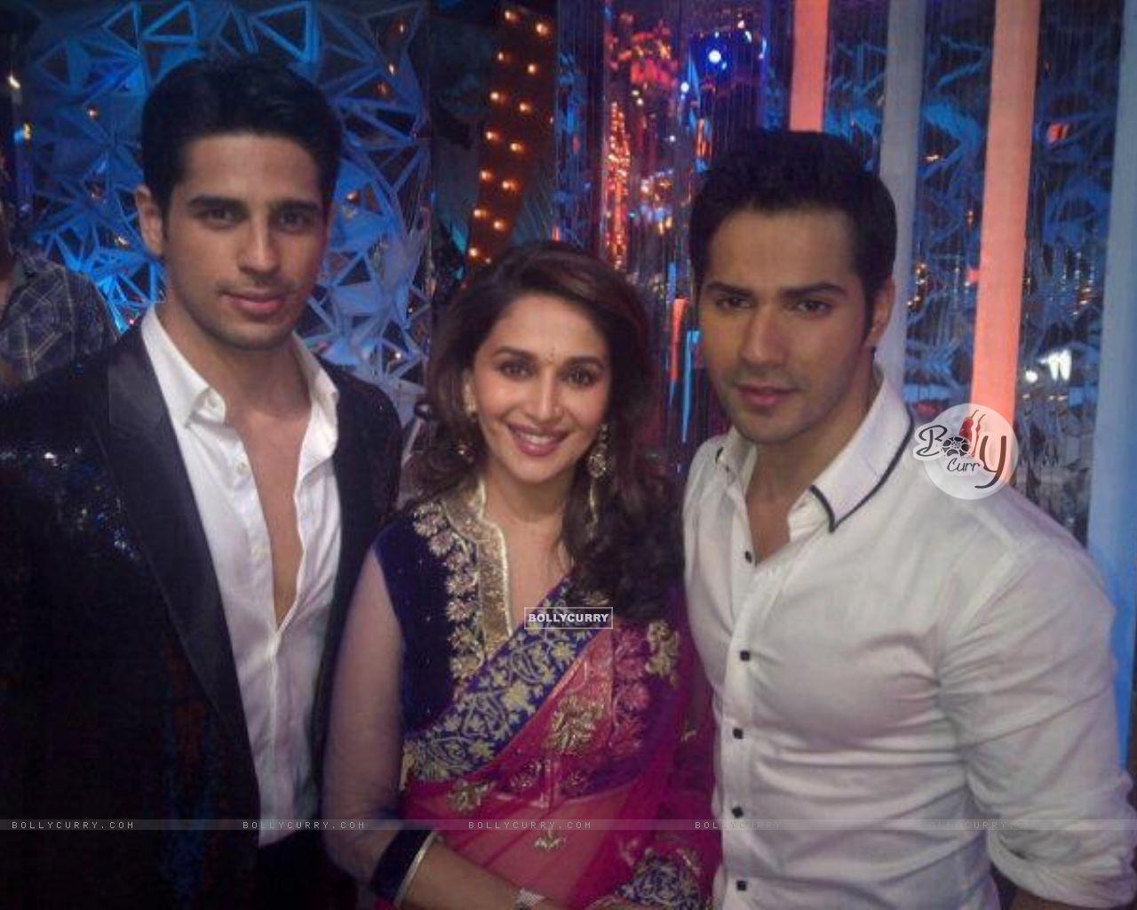 Siddharth Malhotra And Varun Dhawan With