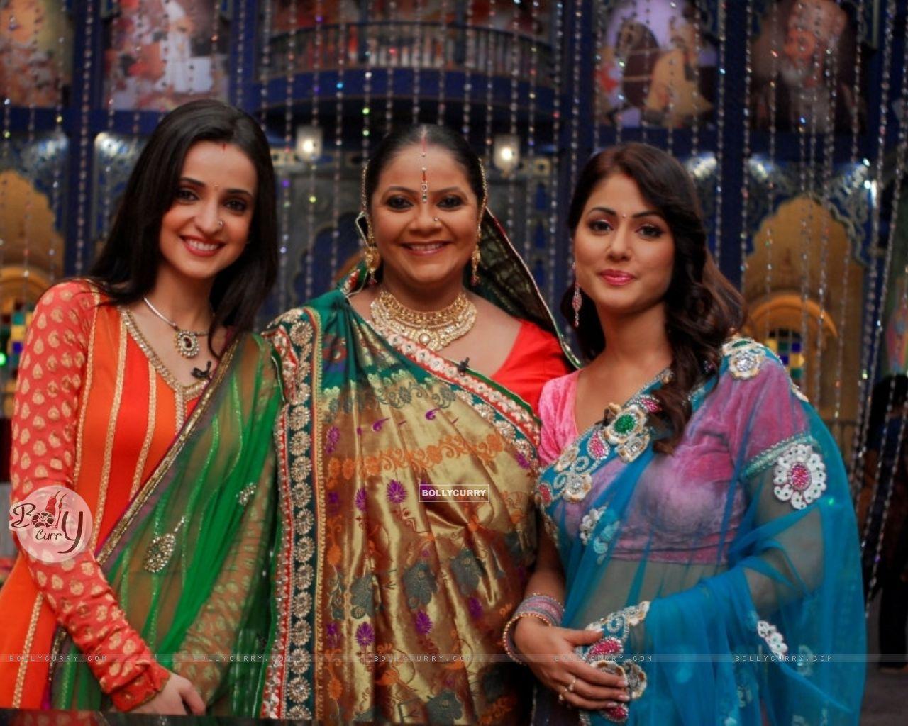 Wallpaper - Sanaya Irani ,Hina Khan and Rupal Patel (283410