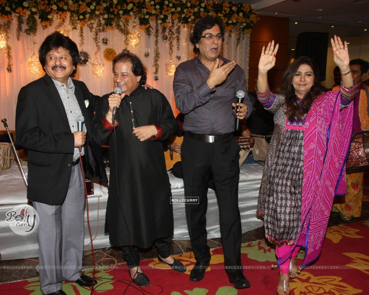 Wallpaper Anup Jalota 60 Years Birth Day Party Celebration 288641