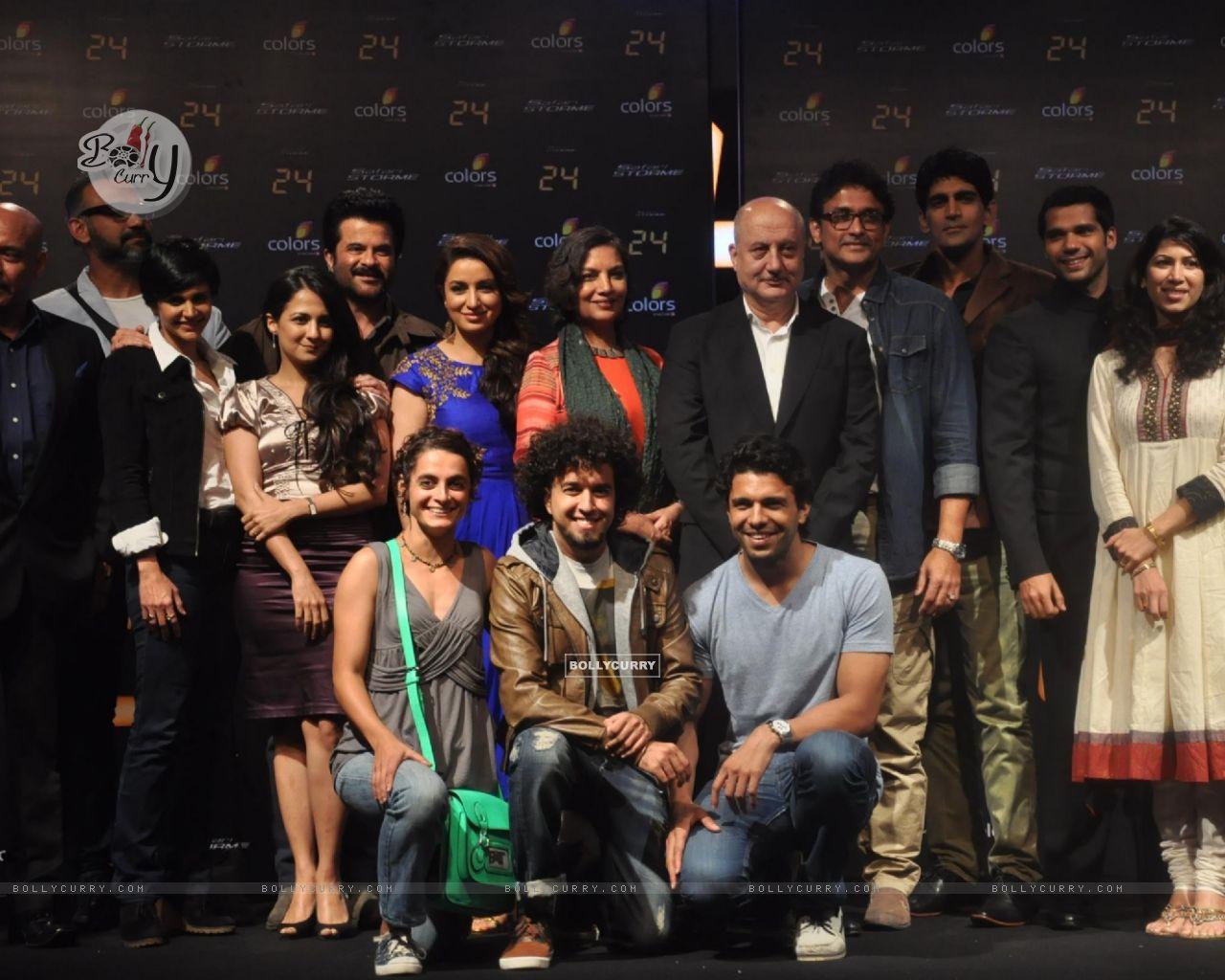 The cast of '24' - Press meet (296423) size:1280x1024