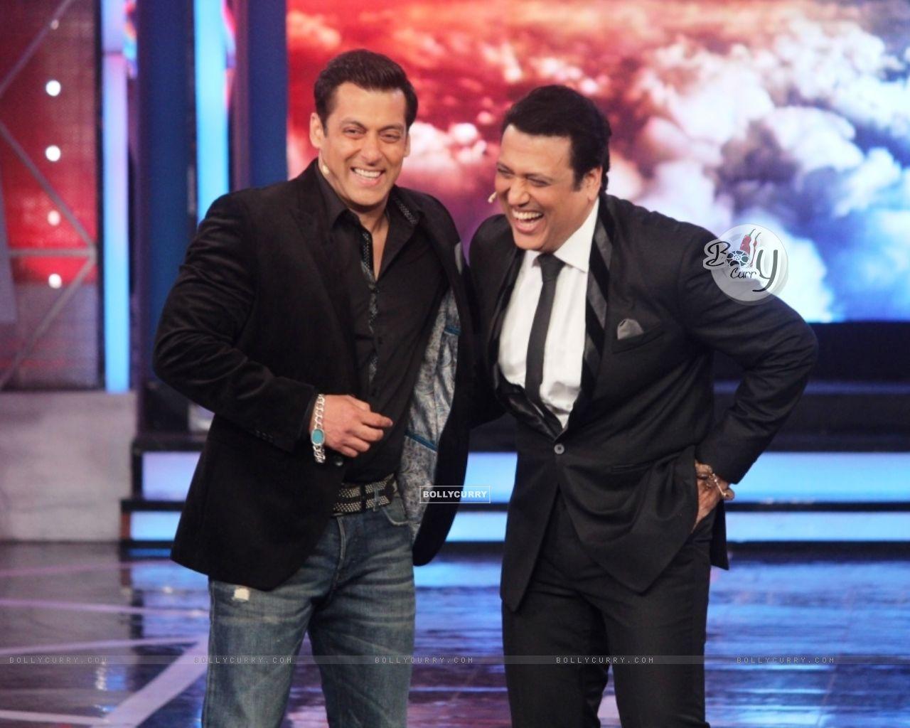 Salman Khan and Govinda on Bigg Boss 8 (342926) size:1280x1024