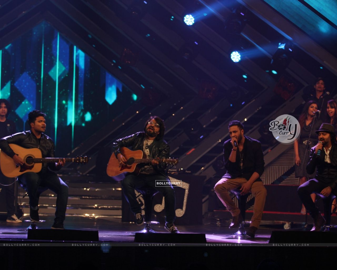 Pritam Chakraborty performs at GIMA Awards 2015 (357069) size:1280x1024
