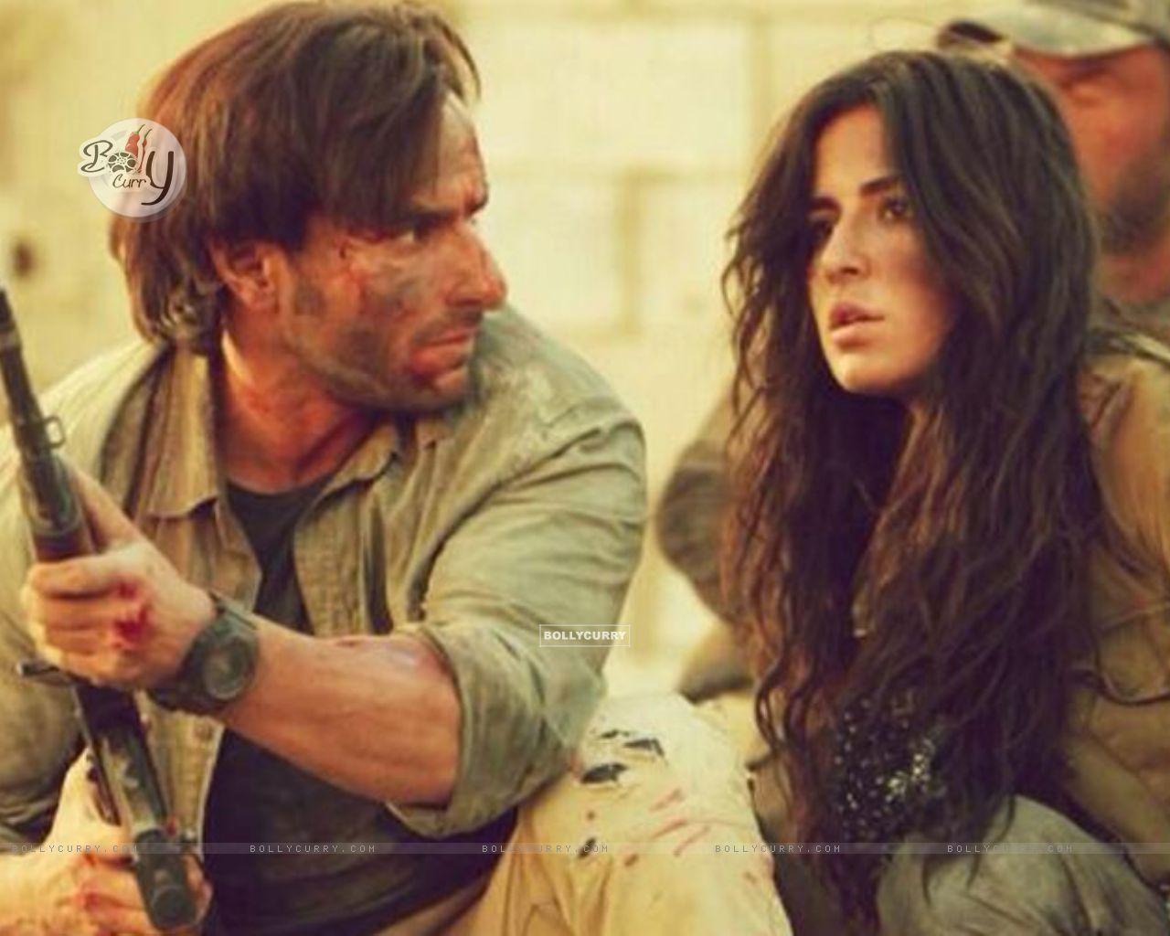 Saif Ali Khan and Katrina Kaif in Phantom (372318) size:1280x1024