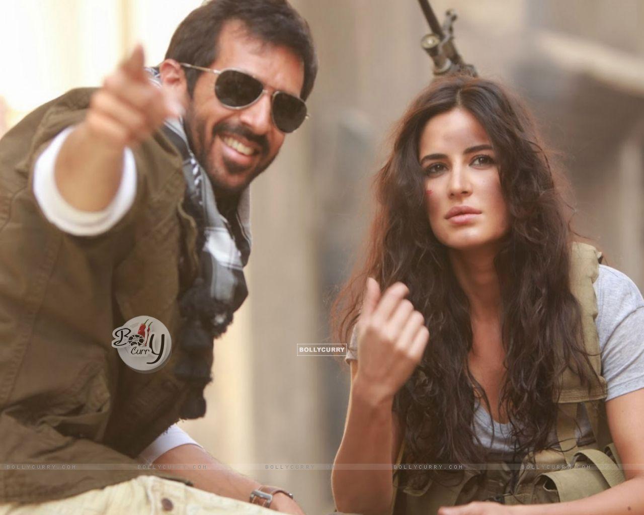 Kabir Khan and Katrina on the Sets of Phantom (372321) size:1280x1024