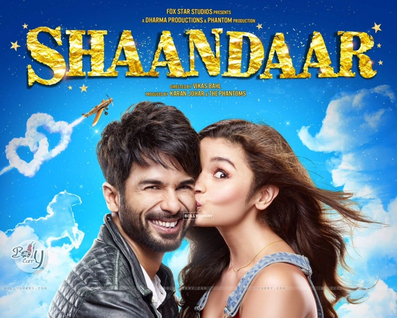 Shahid Kapoor and Alia Bhatt in Shaandar (373547) size:1280x1024
