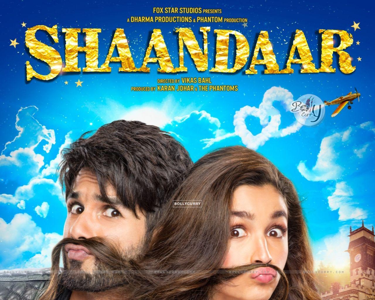 Shahid Kapoor and Alia Bhatt in Shaandaar (374460) size:1280x1024