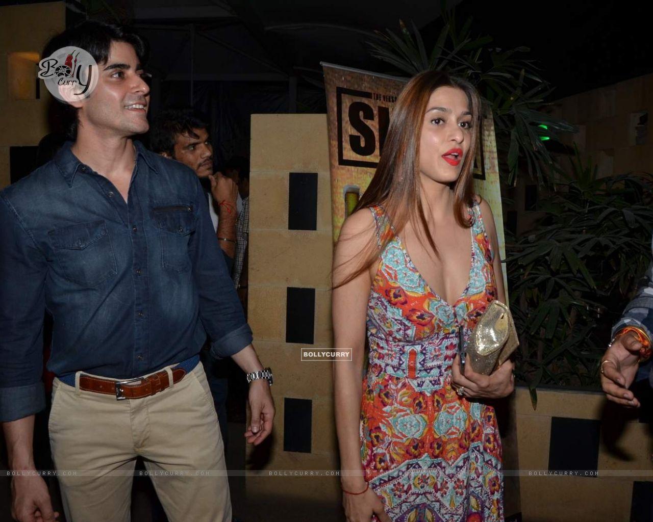 Gautam Rode and Shilpa Sakhlani at Sargun Mehta's Birthday Bash (377321) size:1280x1024
