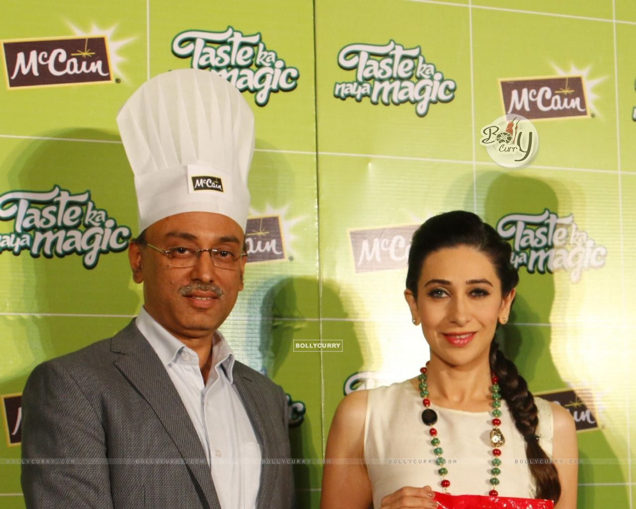 Karisma Kapoor at Launch of McCain Food Products (386575) size:1280x1024