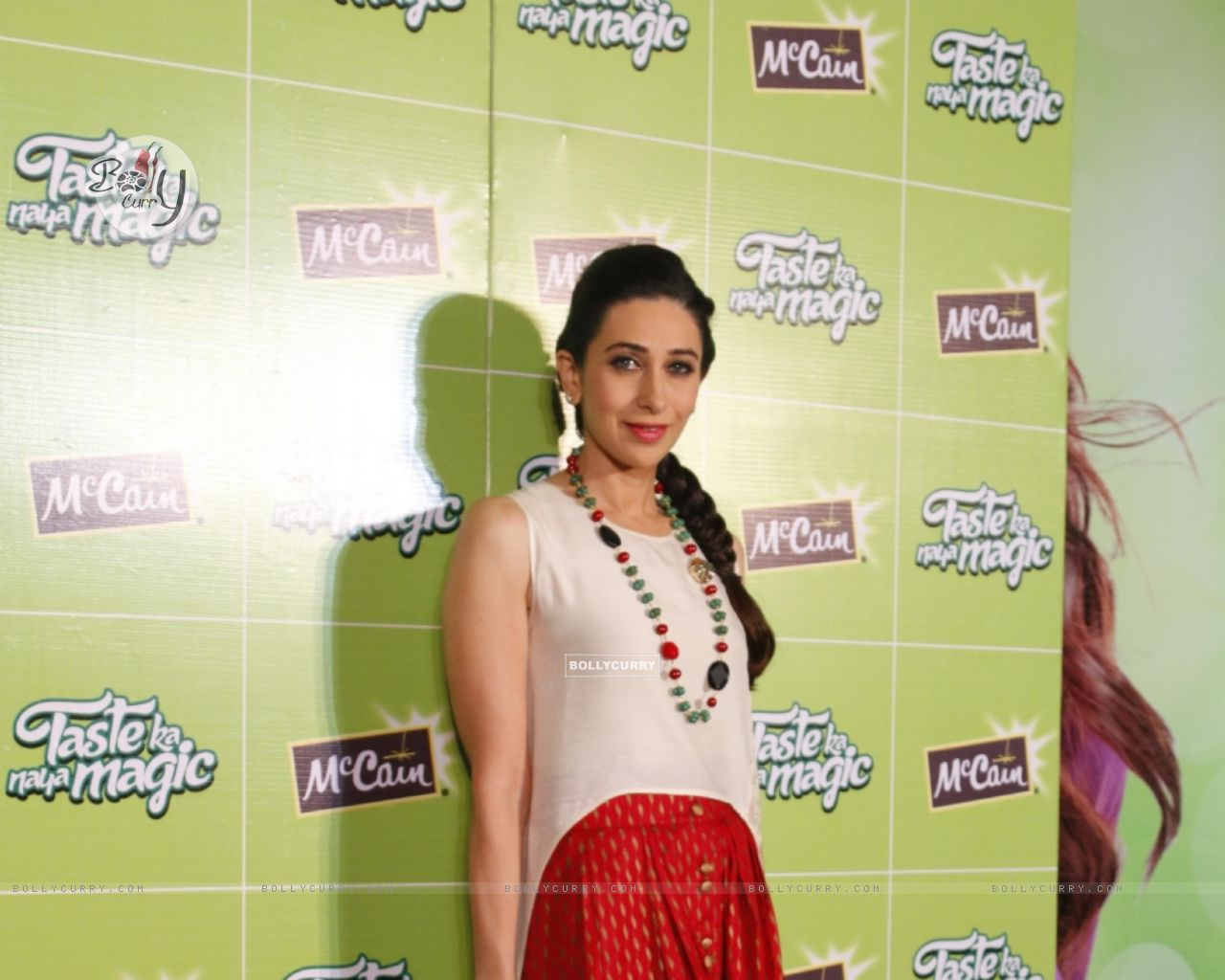 Bollywood Actress Karisma Kapoor at Launch of McCain Food Products (386577) size:1280x1024