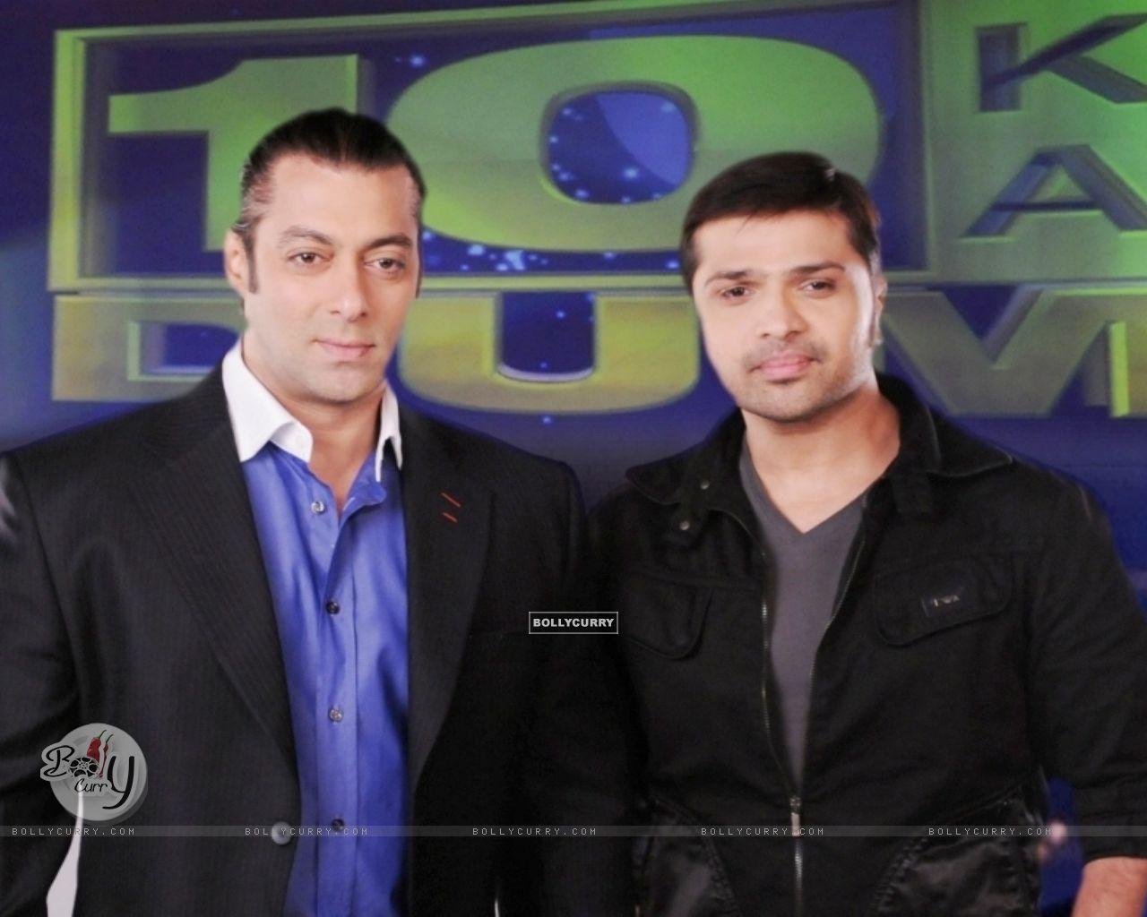 Himesh Reshmmiya and Salman Khan (38674) size:1280x1024