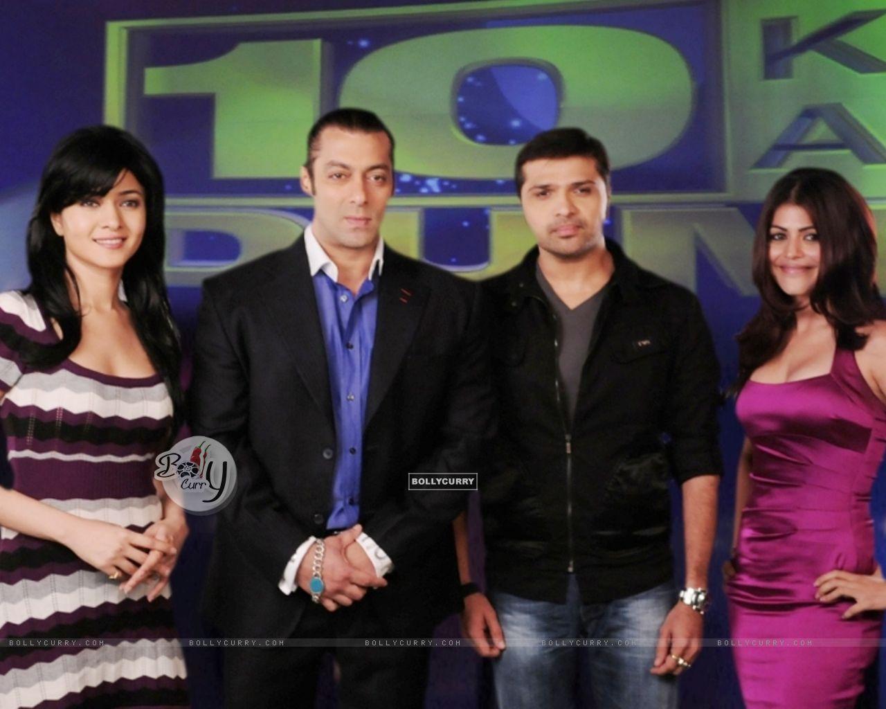 Salman, Sonal, Himesh and Shenaaz (38675) size:1280x1024