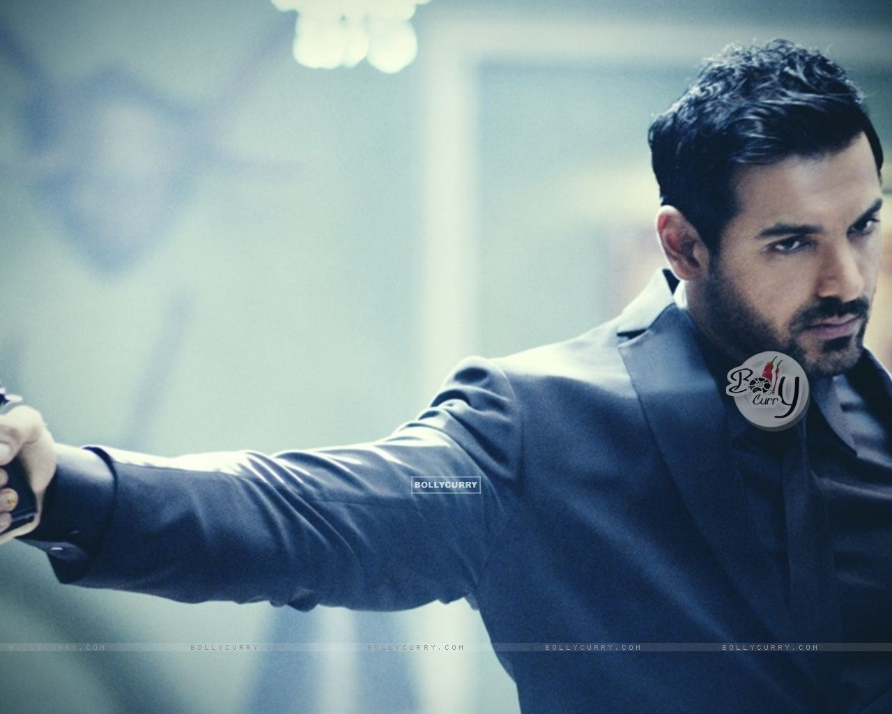 John Abraham 39 S First Look Of Rocky Handsome John Abraham