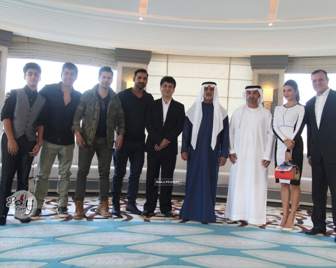 Dishoom Team At the Royal luncheon in Abu Dhabi (393736) size:1280x1024