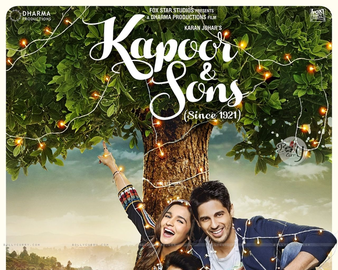 Kapoor & Sons Second Poster (394324) size:1280x1024