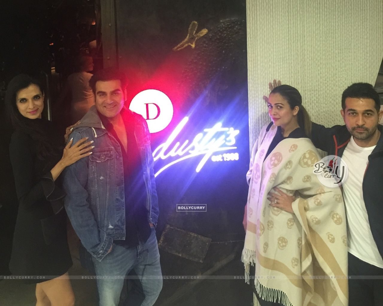 Arbaaz Khan and Amrita Arora at Rekha Tourani's Dusty's Dubai (394422) size:1280x1024