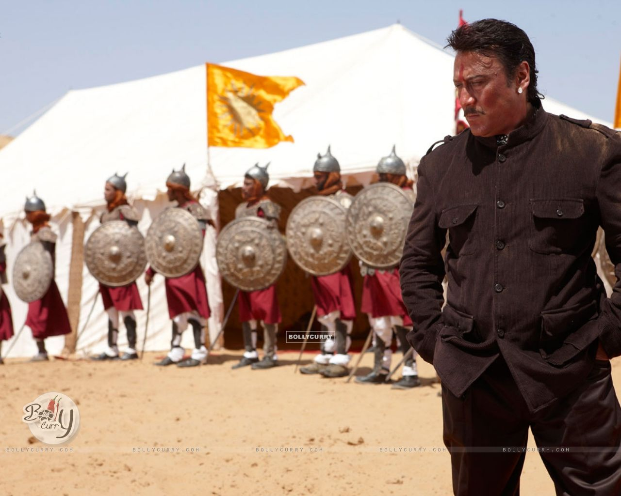 Jackie Shroff in the movie Veer (39872) size:1280x1024