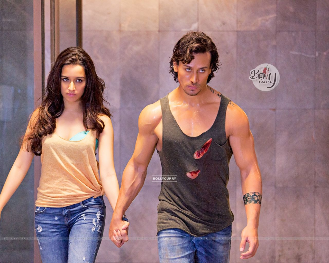 Stills from the fiilm Baaghi (403684) size:1280x1024