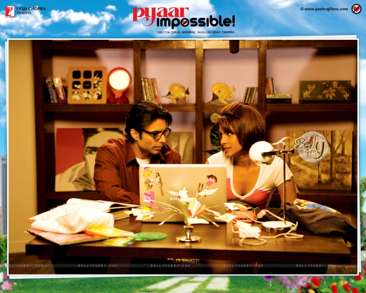 Pyaar Impossible movie wallpaper with Priyanka and Uday (40424) size:1280x1024