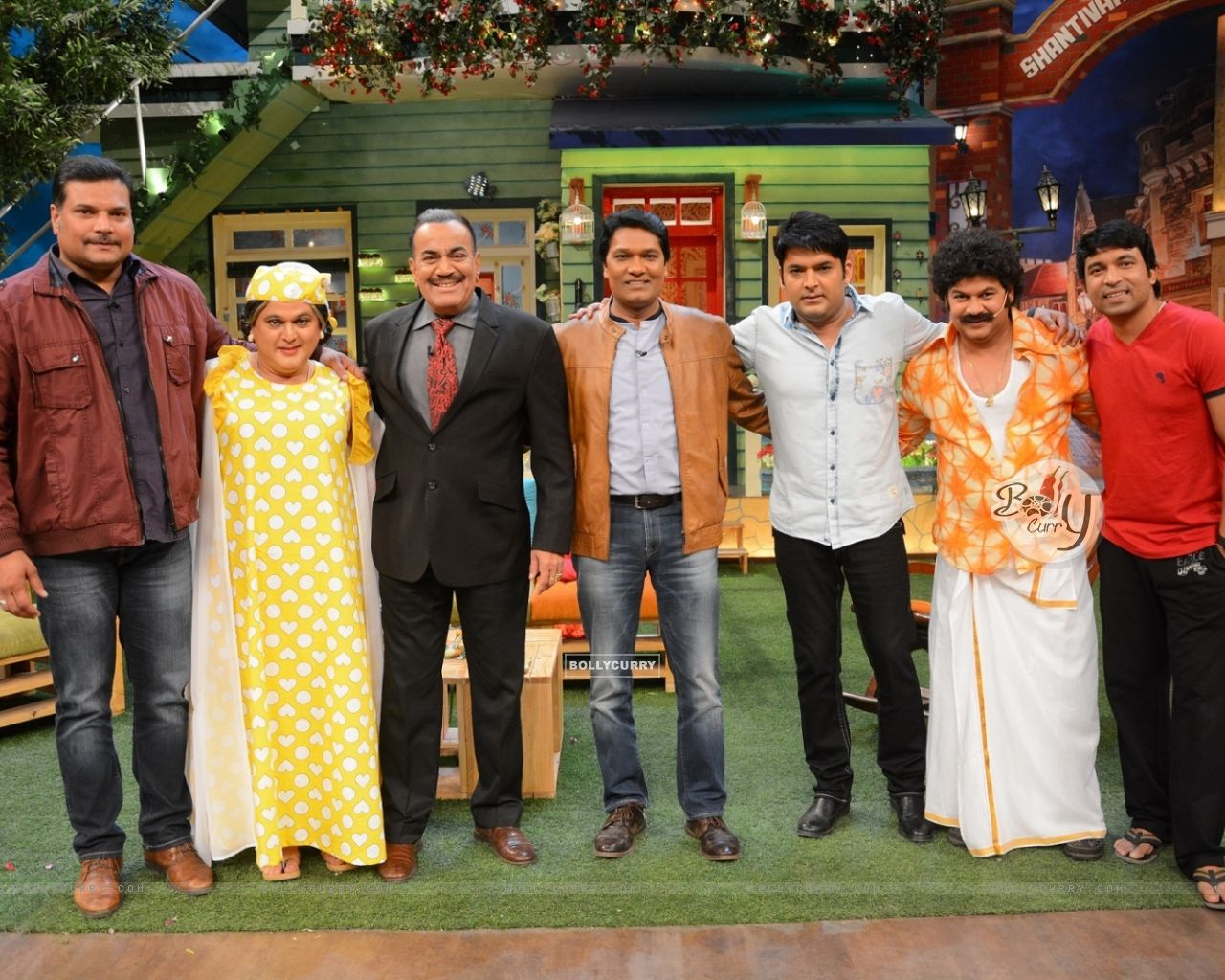 CID Serial Cast at The Kapil Sharma Show (406894) size:1280x1024