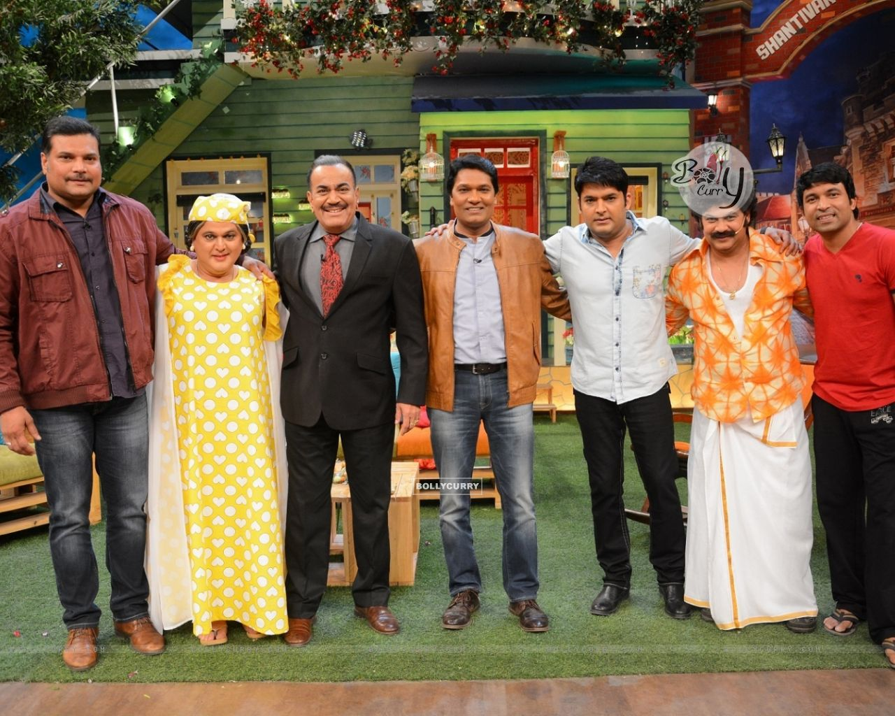 CID Serial Cast at The Kapil Sharma Show (406895) size:1280x1024