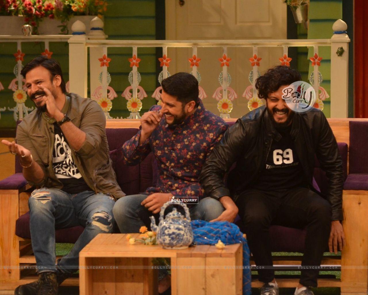 Wallpaper - 'Great Grand Masti' cast on 'The Kapil Sharma