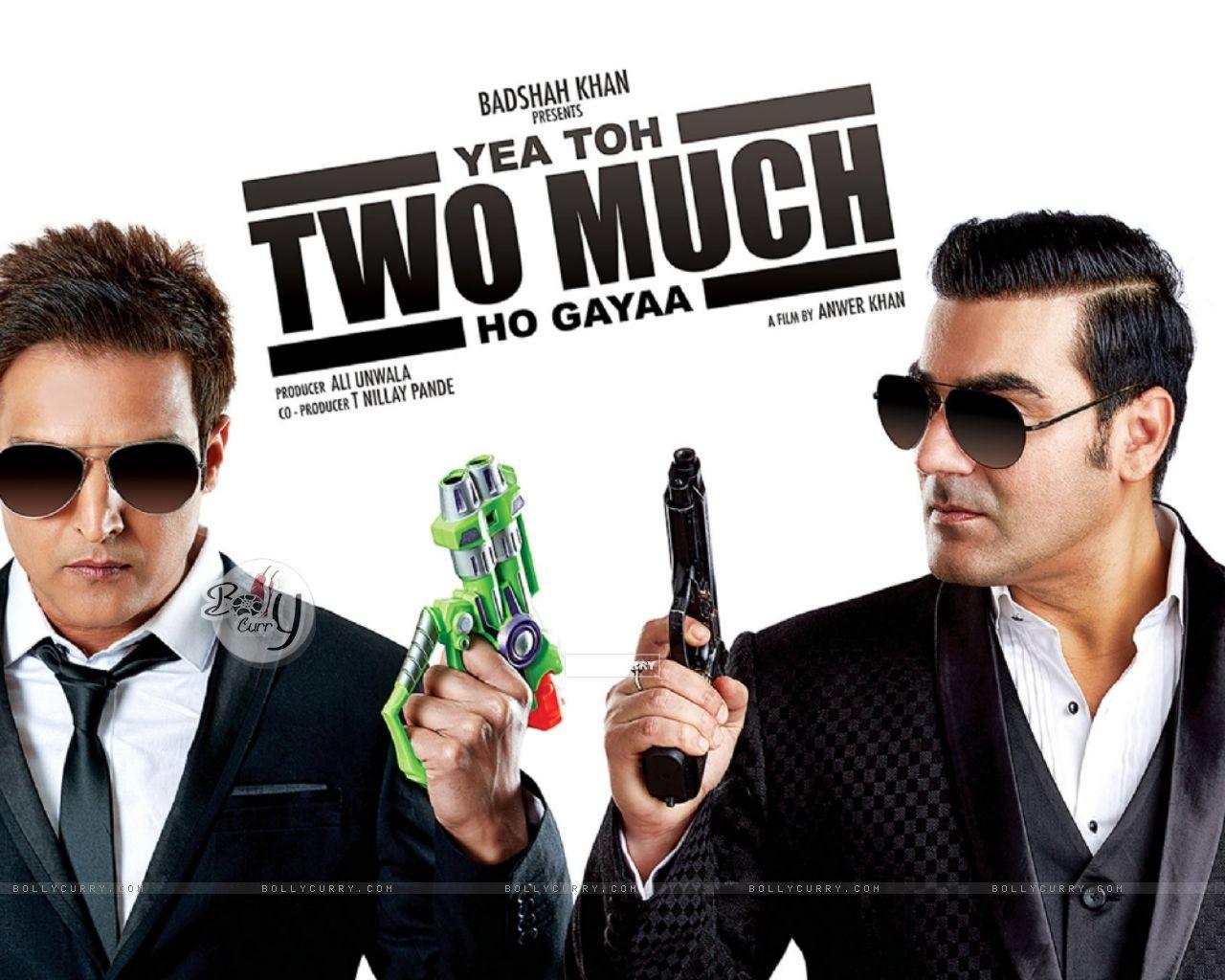 Jimmy Shergill and Arbaaz Khan starring Yea Toh Two Much Ho Gayaa (415588) size:1280x1024