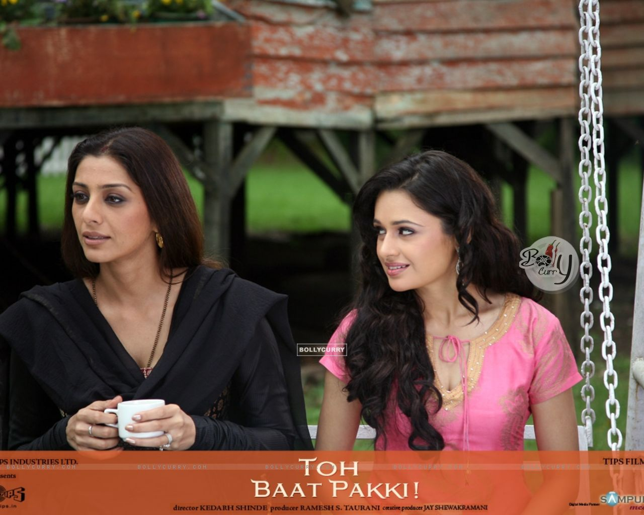 Tabu and Yuvika in the movie Toh Baat Pakki | Tabu Hashmi Photo ...
