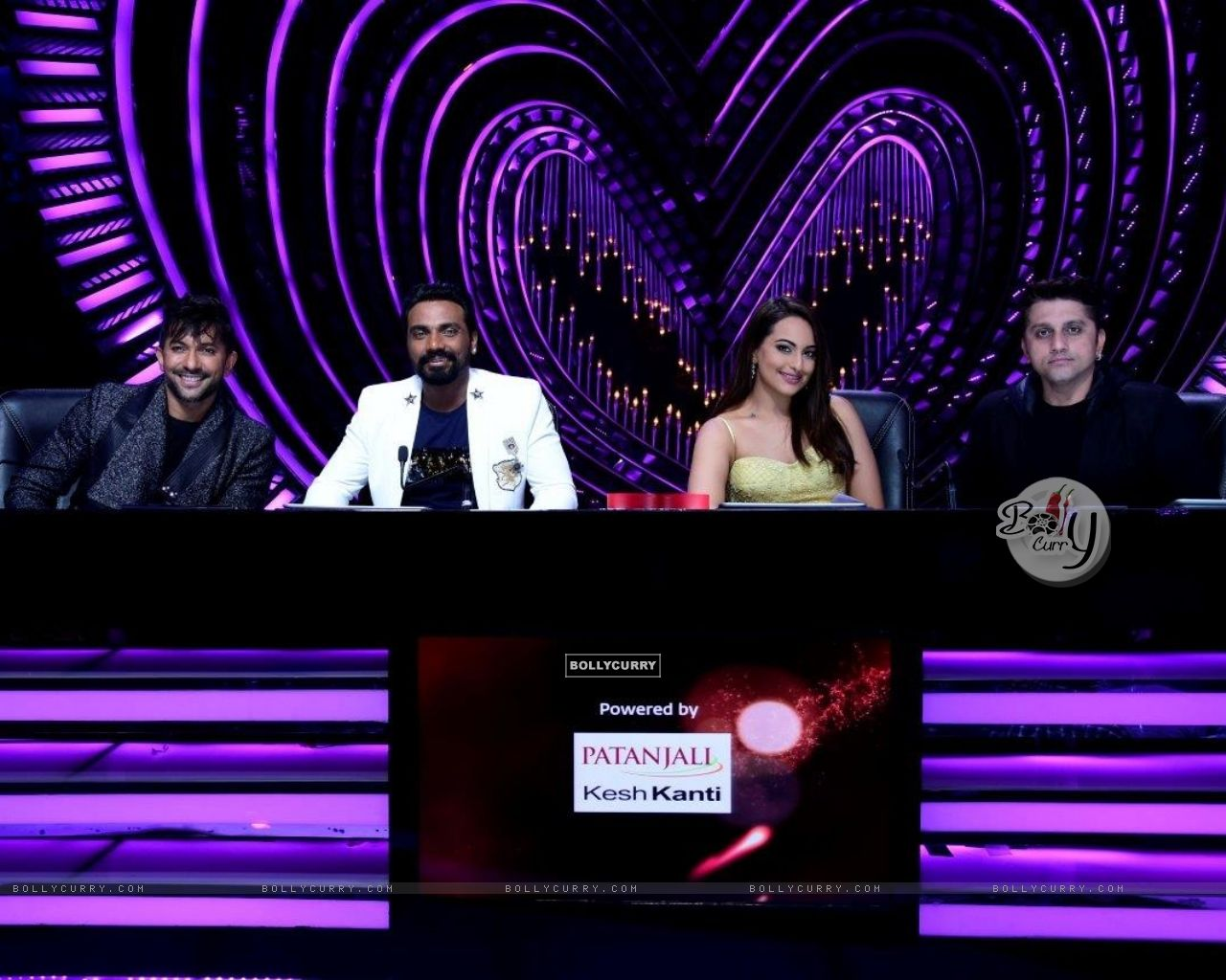 Judges - Terence Lewis, Remo D'souza , Sonakshi Sinha and Mohit Suri (429128) size:1280x1024