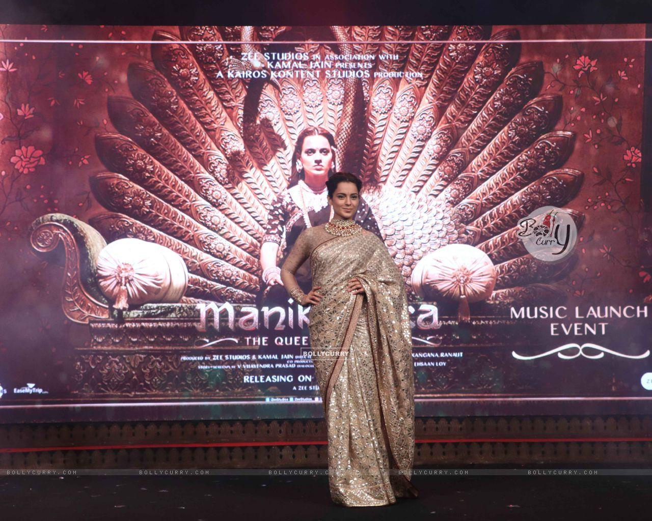 Kangana Ranaut spotted at Manikarnika music launch (443075) size:1280x1024