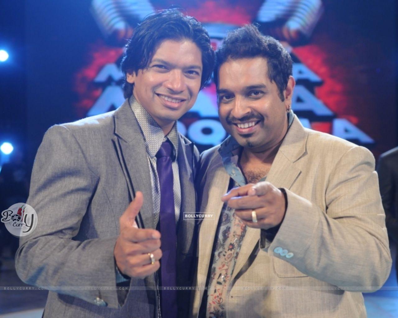 Shaan and Shankar in tv show Amul Music ka Maha Muqqabla (57938) size:1280x1024