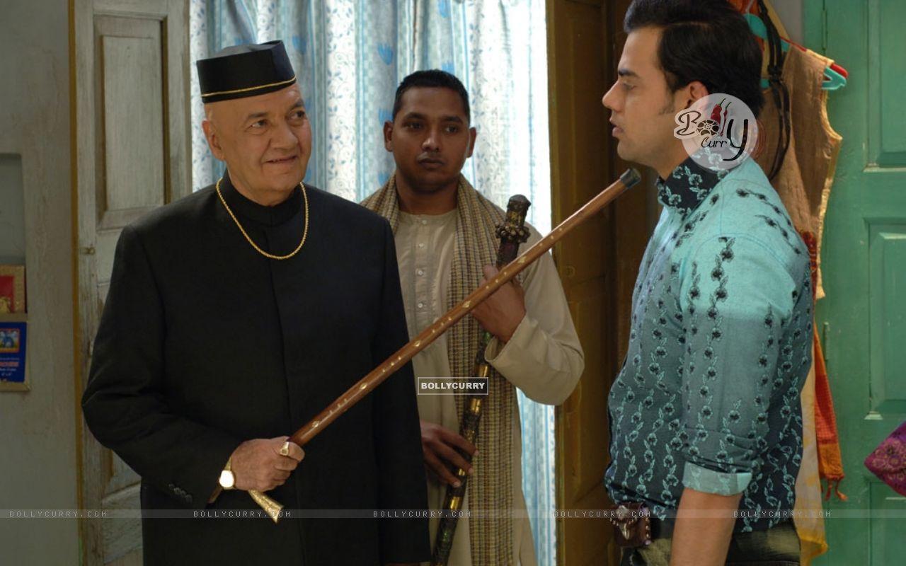 Prem Chopra scolding Cyrus Sahukar (12584) size:1280x800