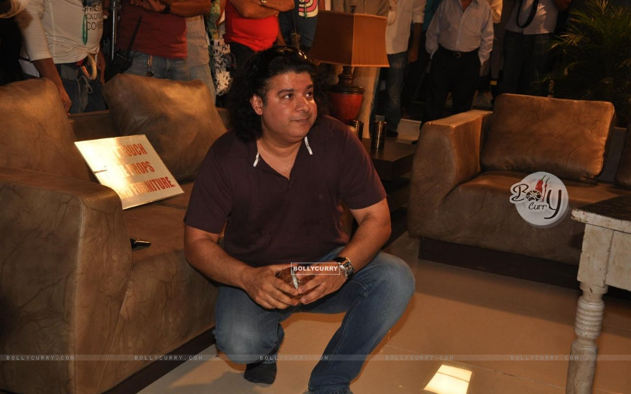 Sajid Khan during the Mahurat of Movie �Ajab Gazabb Love� (193658) size:1280x800