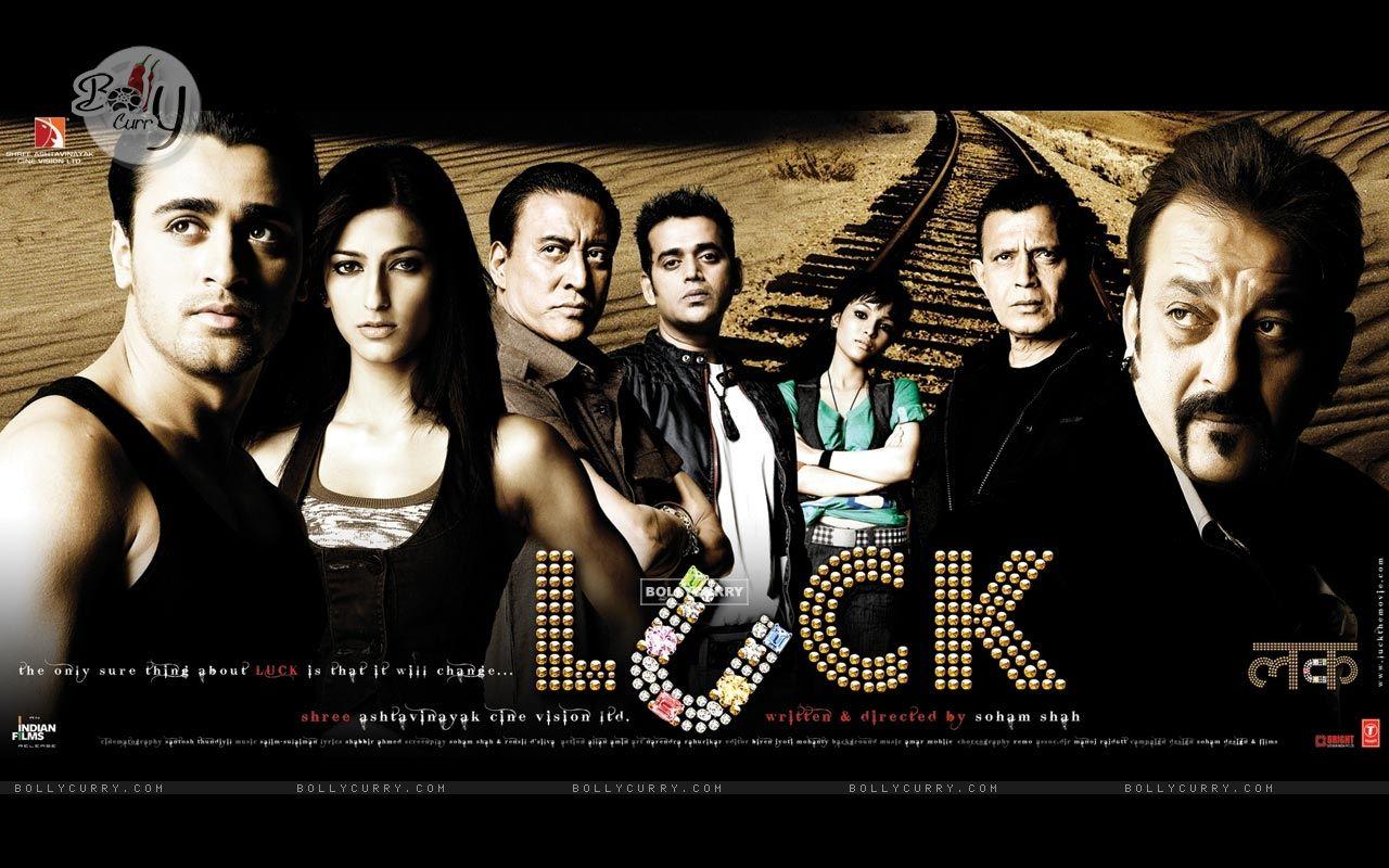 Luck movie wallpaper with Imraan,Sanjay,Shruti...... (20315) size:1280x800