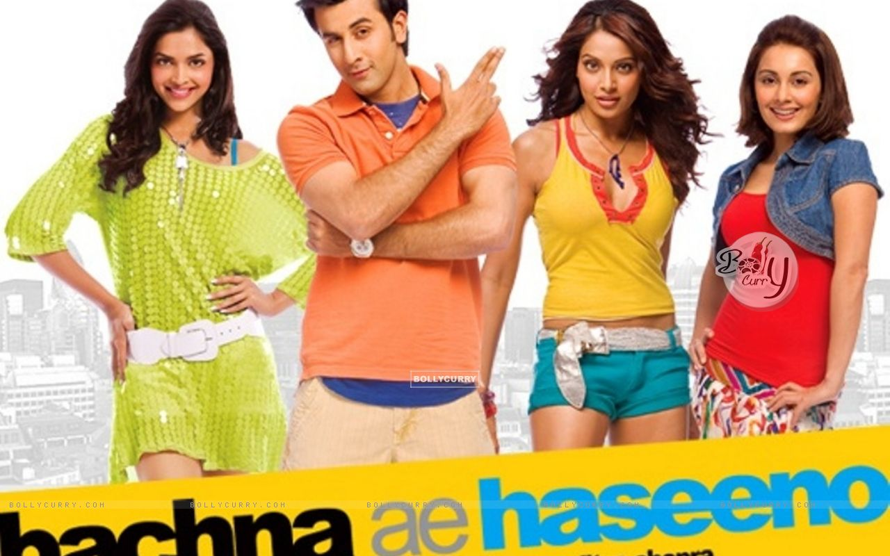 Wallpaper of Bachna Ae Haseeno movie wallpaper (Size:1280x800)