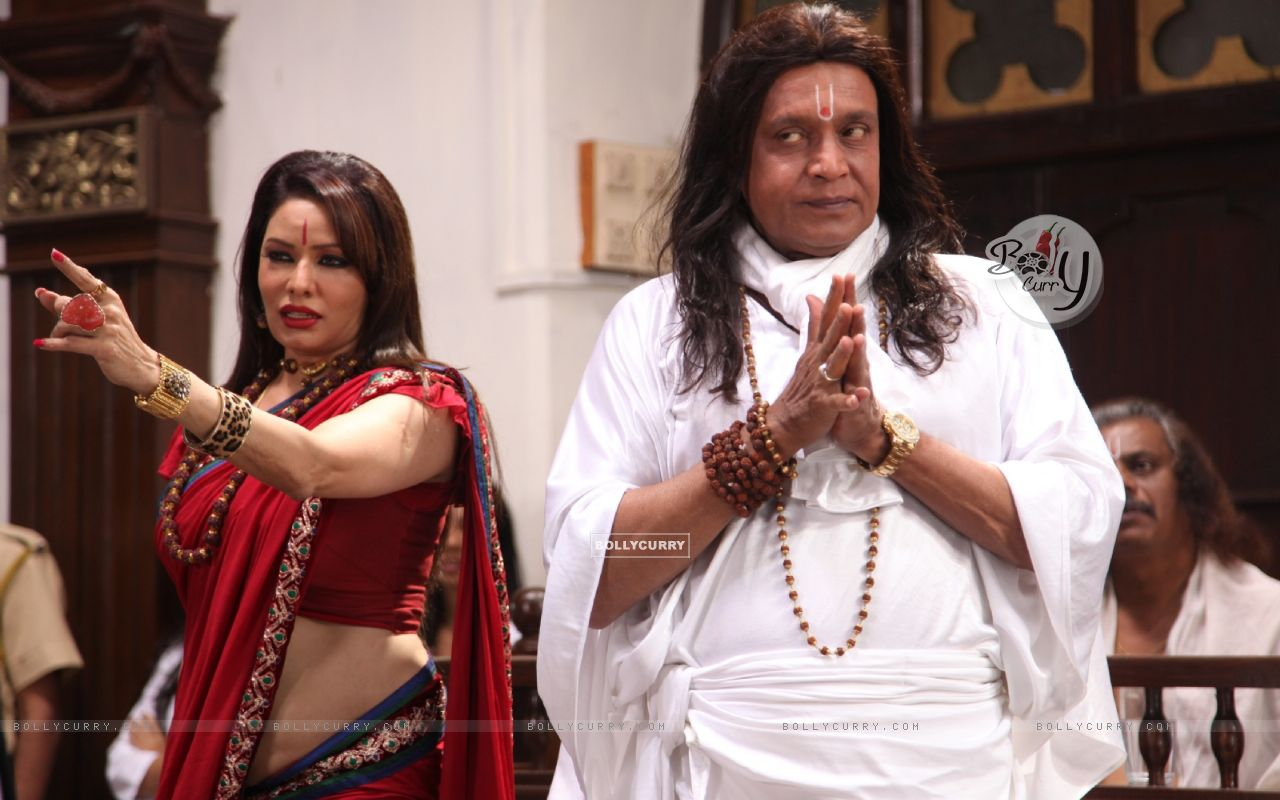 Poonam Jhawer and Mithun Chakraborty in OMG! Oh My God (226262) size:1280x800