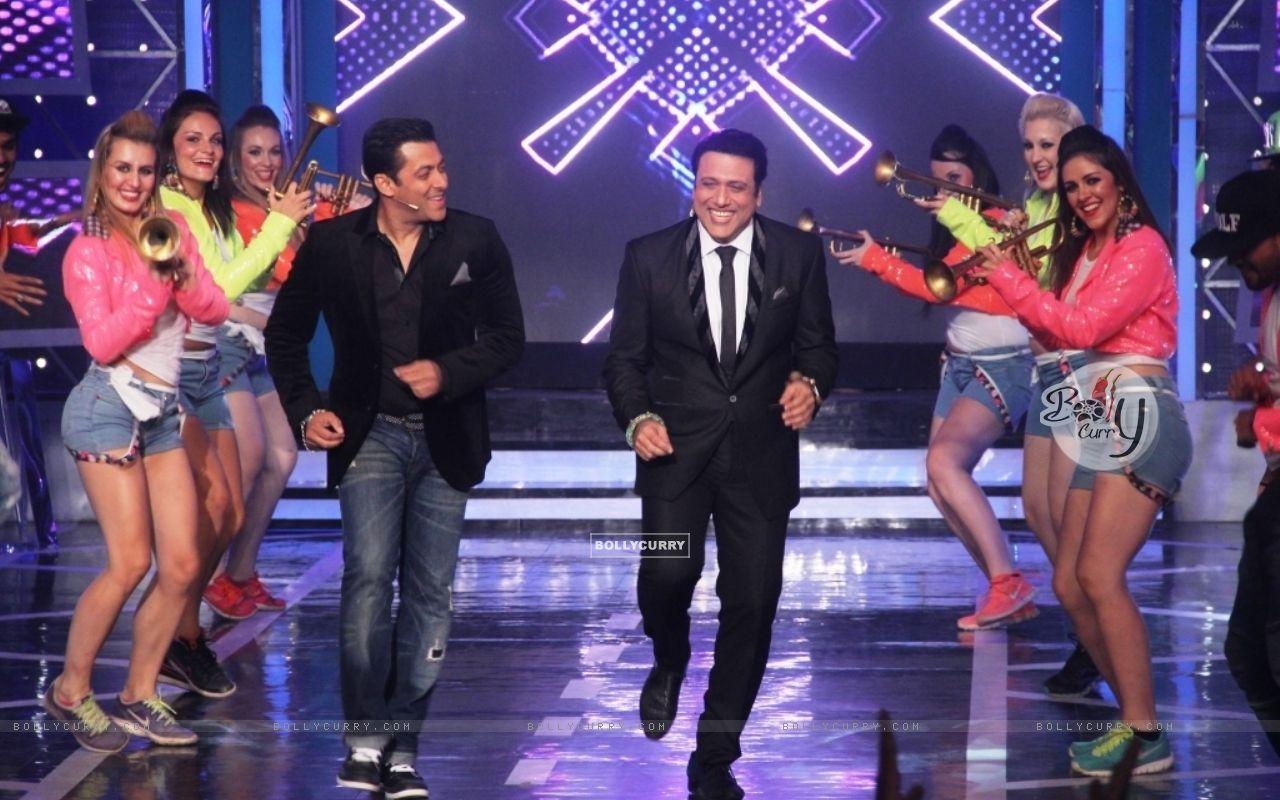 Salman Khan and Govinda shake a leg on Bigg Boss 8 (342924) size:1280x800