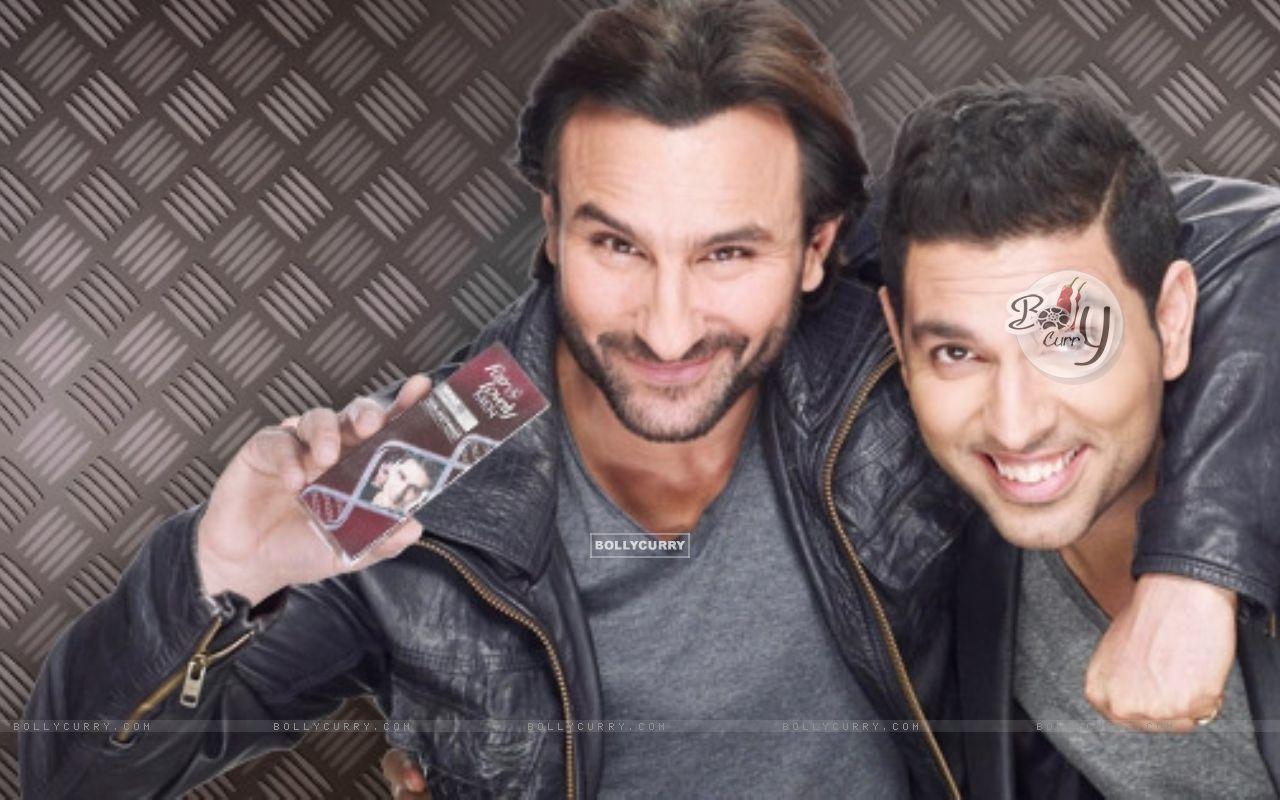Yuvraj Singh and Saif Ali Khan (344582) size:1280x800